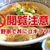 【注意!】吉野家で鶏すき丼にゴキブリが2匹も入っていたと認め謝罪